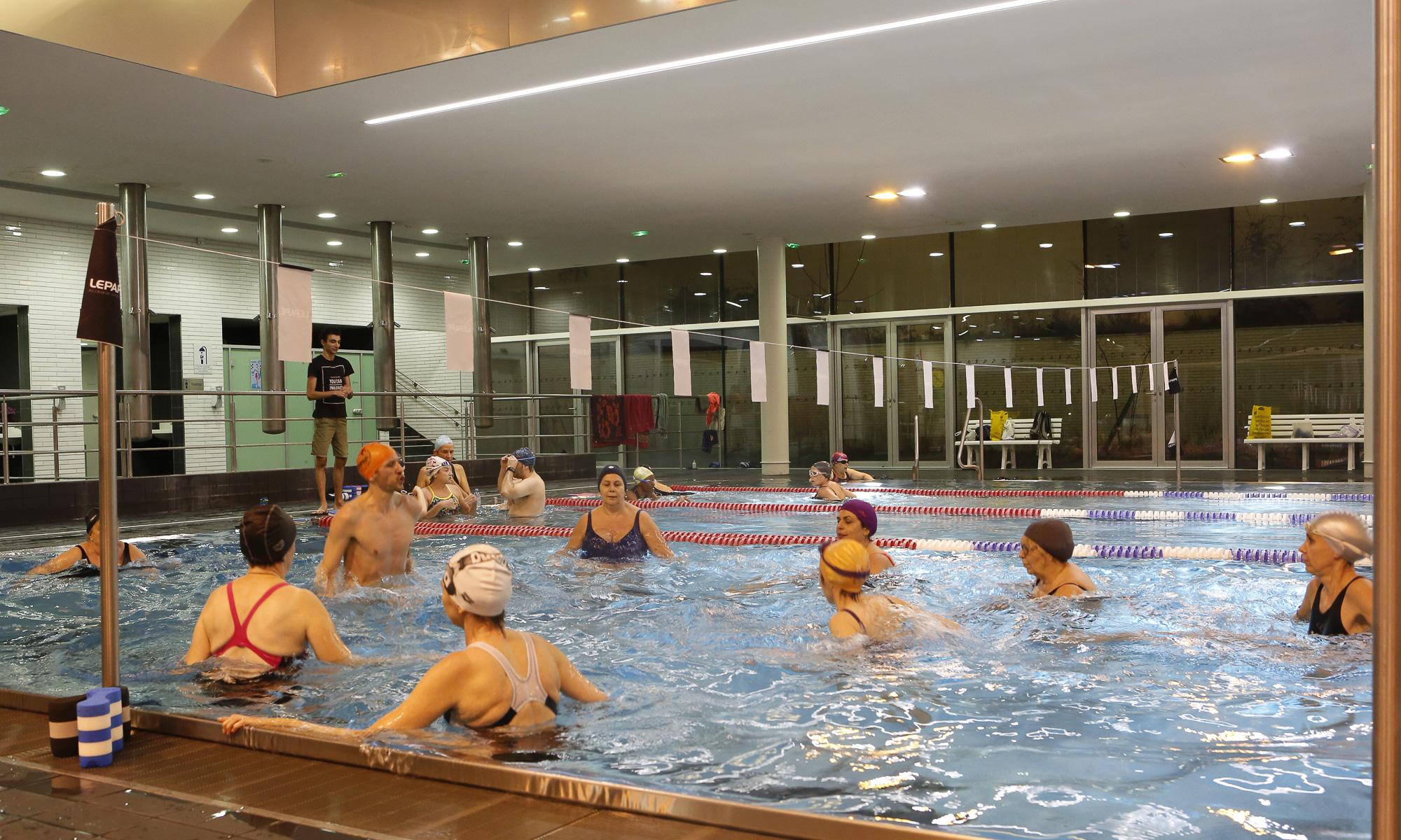 Gymnastique aquatique