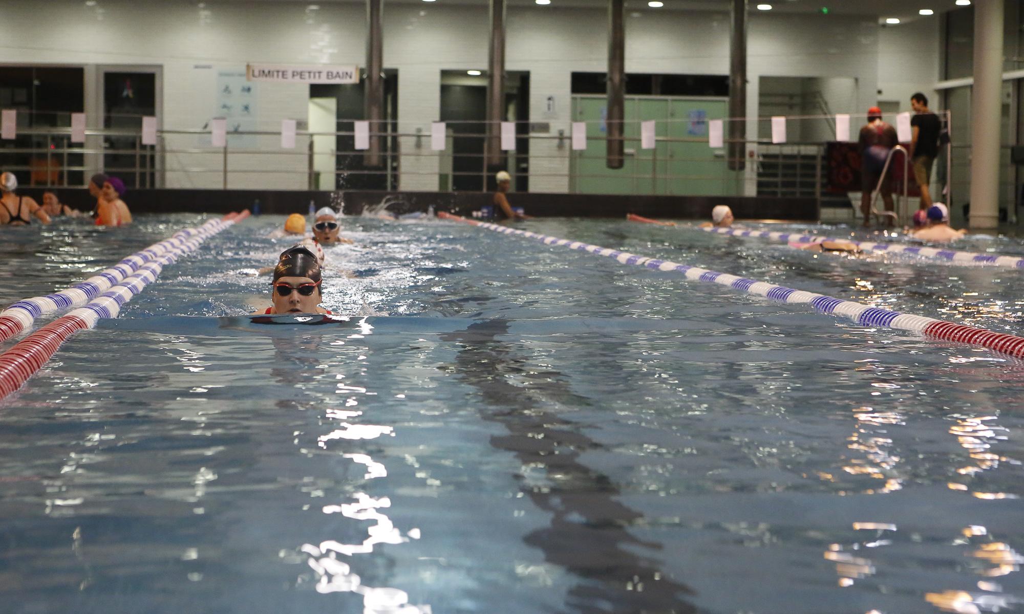 Natation aquaphobie